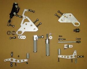 Rear Sets for DISC Brake (NOT Daytona)
